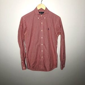 Mens Small Ralph Lauren Button Down Dress Shirt